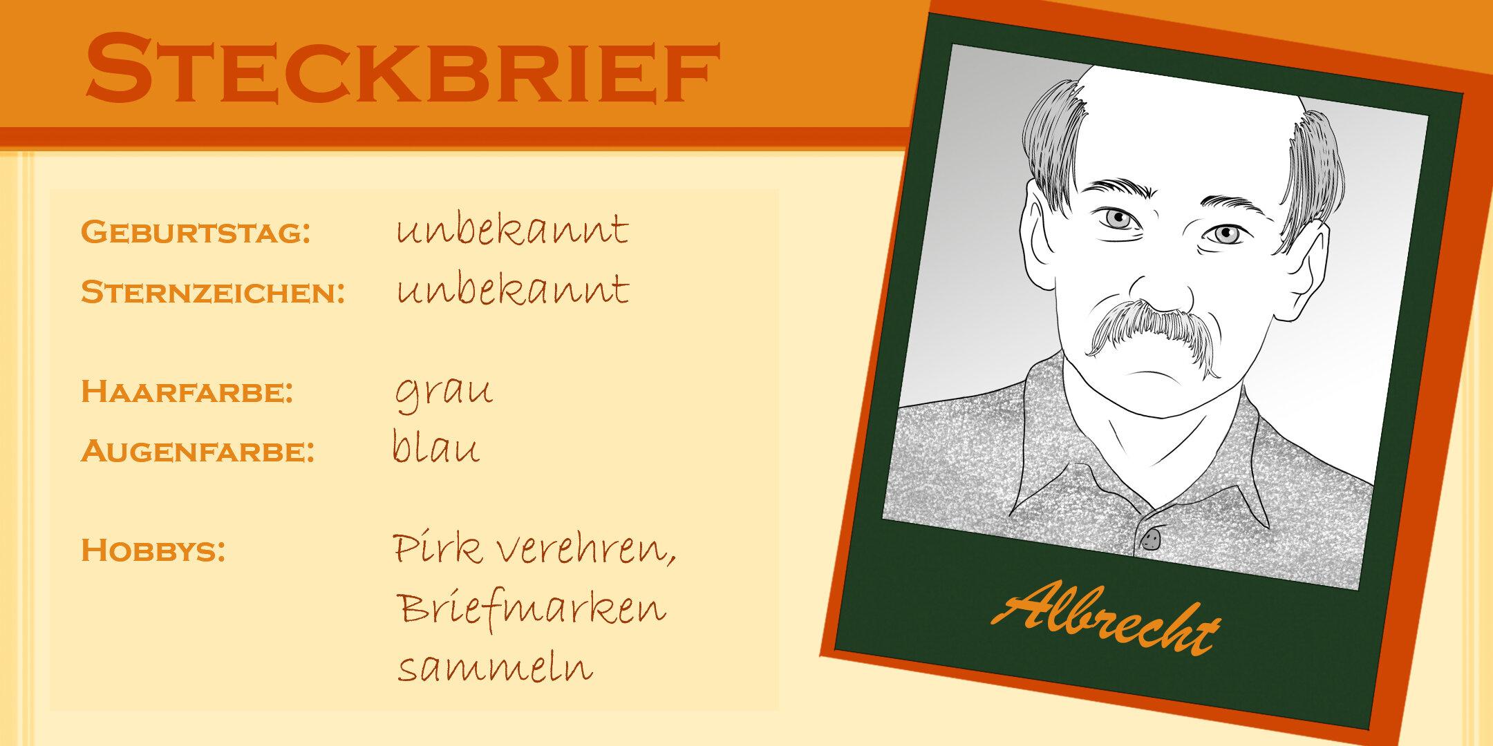 Steckbrief Albrecht