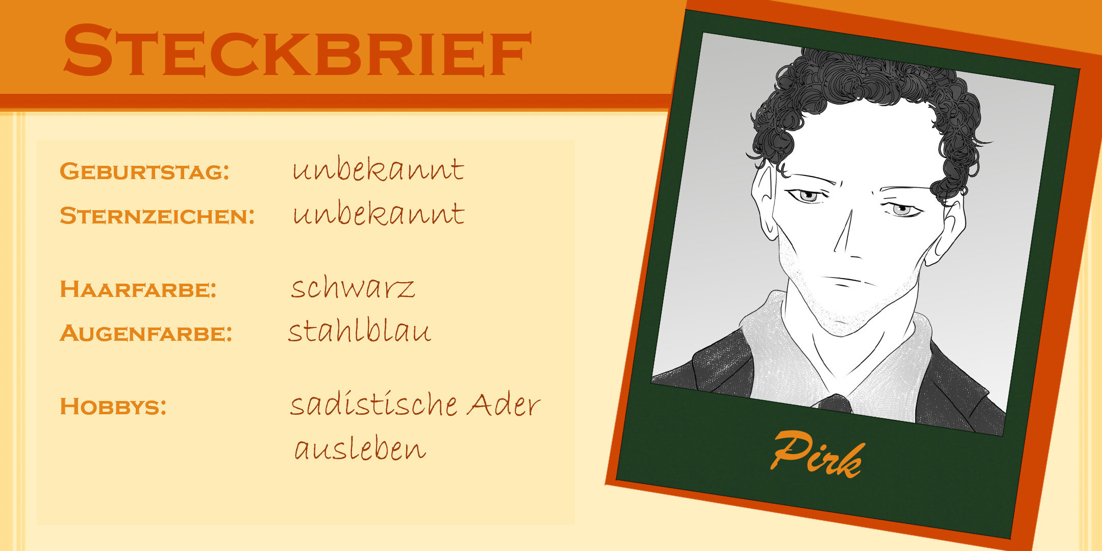 Steckbrief Pirk
